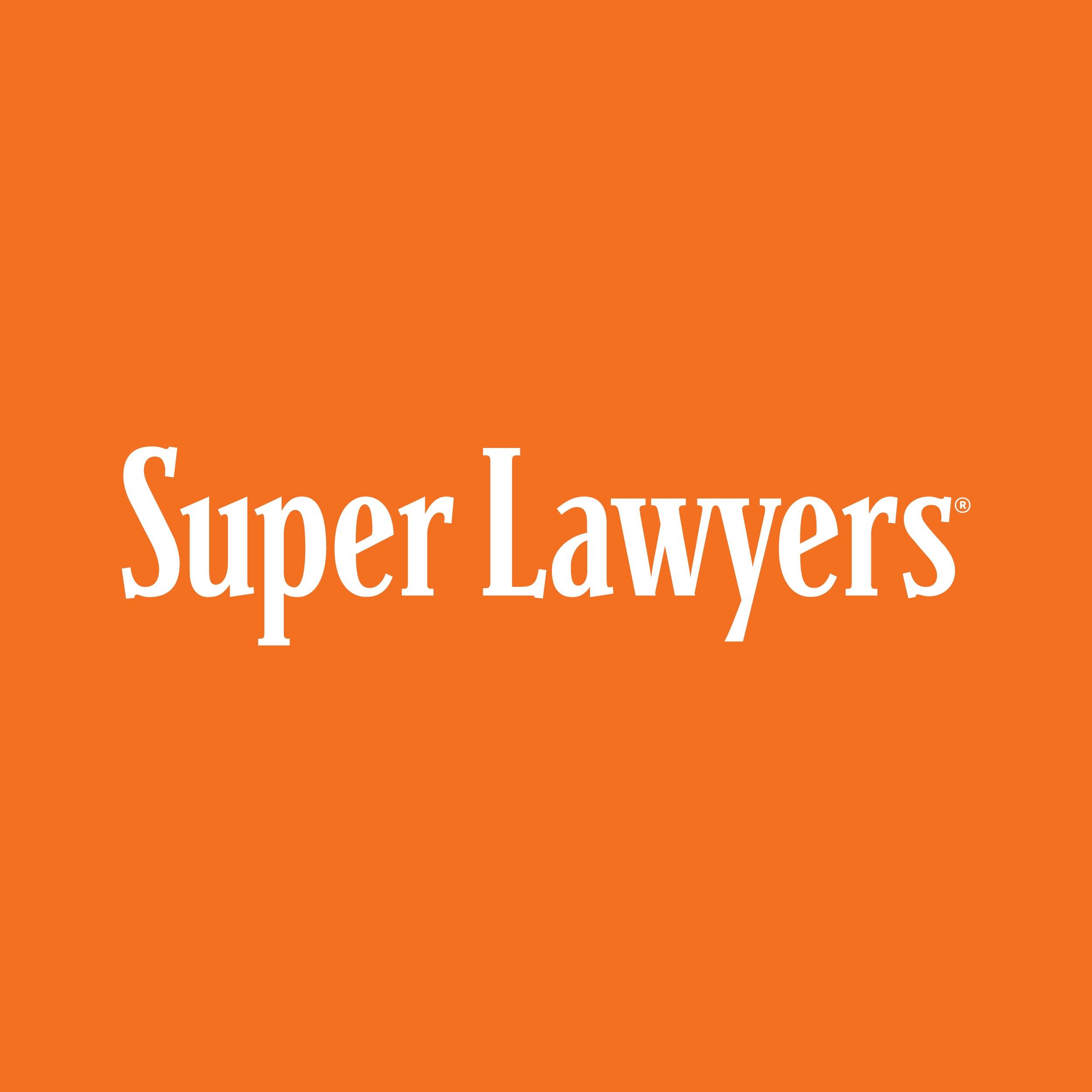 Super Lawyer Awarded Attorneys