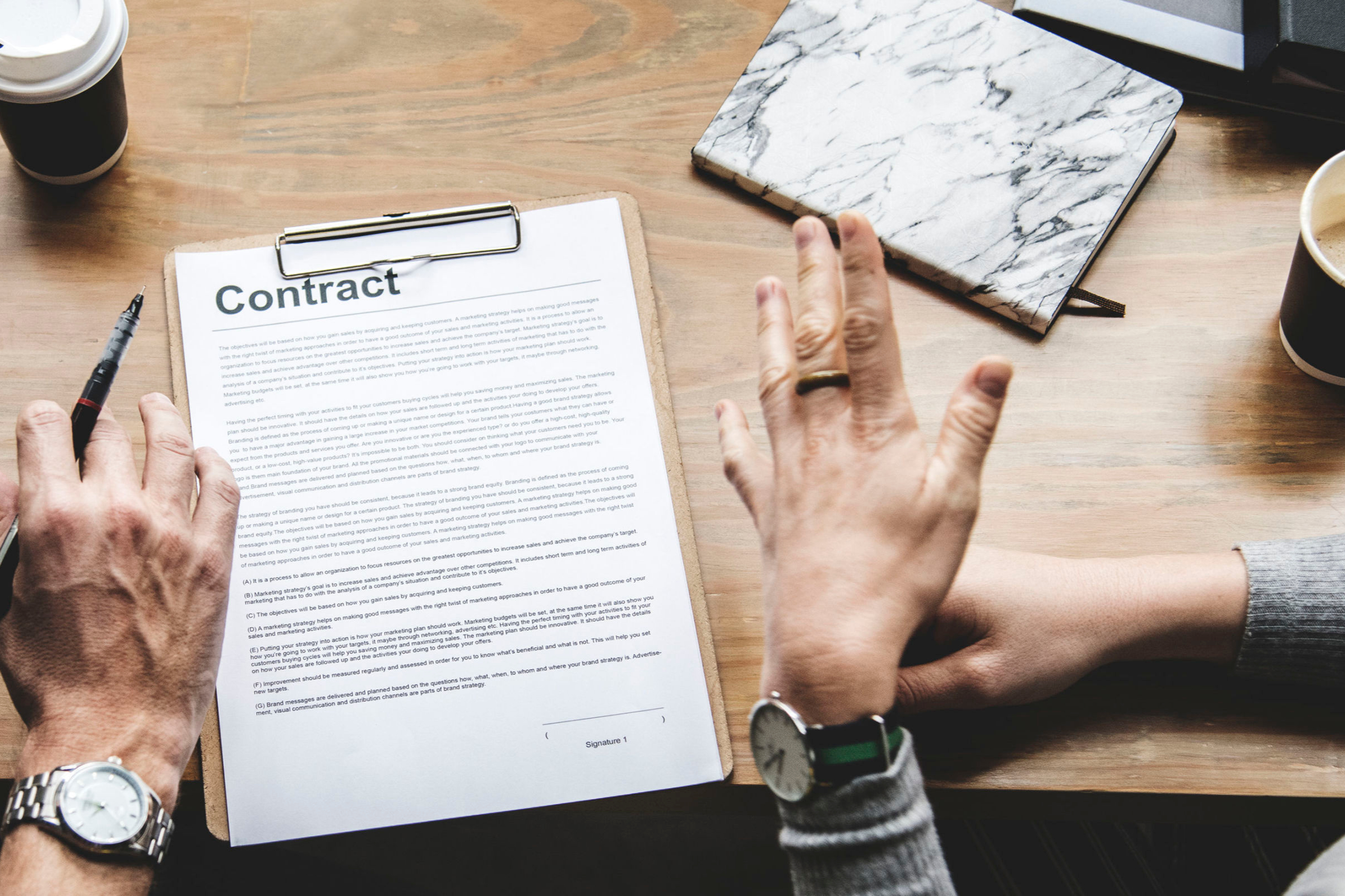 The 9 Areas Every Employment Agreement Should Include
